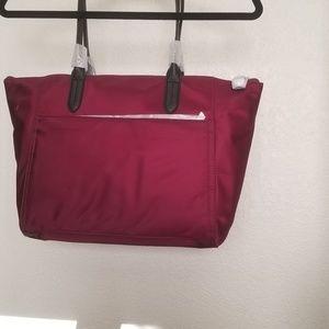 Purple fabric Michael Kors Large tote